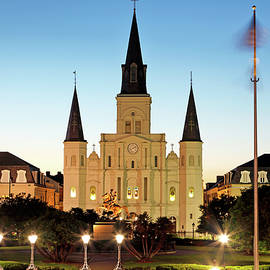 Nicholas Blackwell - Jackson Square and St Louis Cathedral