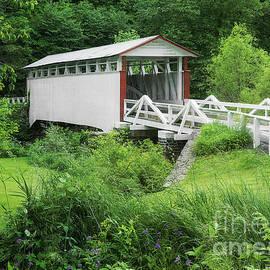 Jackson's Mill Bridge by Priscilla Burgers