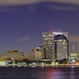 Jacksonville Florida Skyline - Panoramic - City by Jason Politte