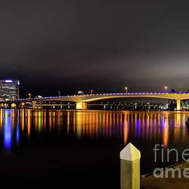 Paul Quinn - Jacksonville night sky