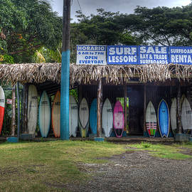 Jaco Surf Shop by Robert Kaler