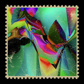 Jade Fantasy -postage stamp series by Grace Iradian