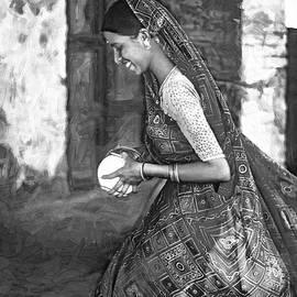 Steve Harrington - Jaisalmer Beauty 2 - Paint bw