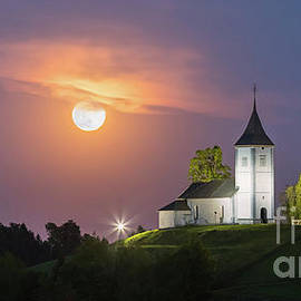 Jamnik Church, Slovenia by Henk Meijer Photography