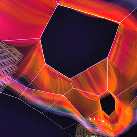 Joann Vitali - Janet Echelman Sculpture - Boston