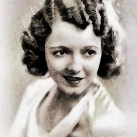 John Springfield - Janet Gaynor, Vintage Actress by John Springfield
