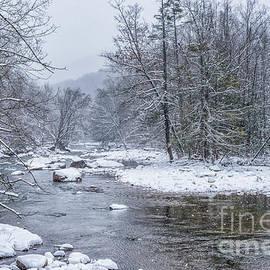 Thomas R Fletcher - January Snow on the River