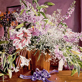 Japan Flowers by David Lloyd Glover