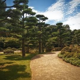 Japanese Garden Path - Jap1050515 by Dean Wittle