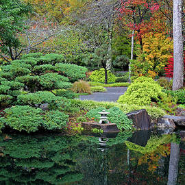 Japanese Gardens 12 by Richard Krebs