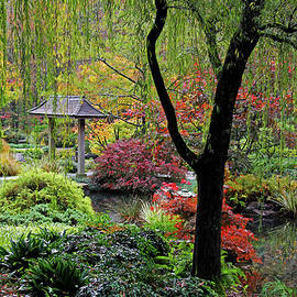 Japanese Gardens 5 by Richard Krebs