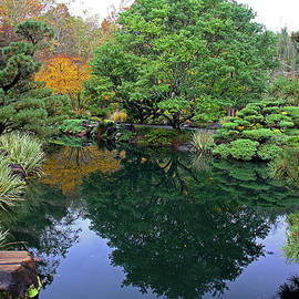 Japanese Gardens 7 by Richard Krebs