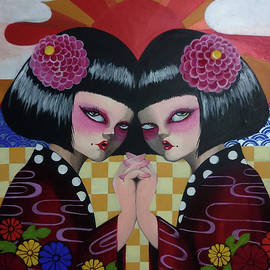 Akiko Okabe - Japanese Twins
