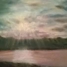 Junko Schettino - Jarvis Bay Sunset NSW Australia