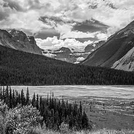 Joan Carroll - Jasper National Park Alberta Canada BW