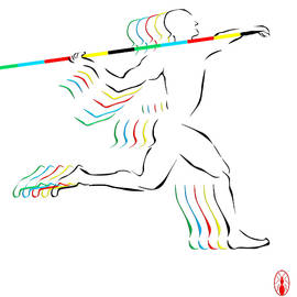Javelin Thrower by Robert De Monos