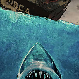 Jaws, movie poster