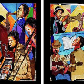 Everett Spruill - Jazzy Room Divider x 2