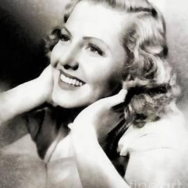Jean Arthur, Vintage Actress - John Springfield