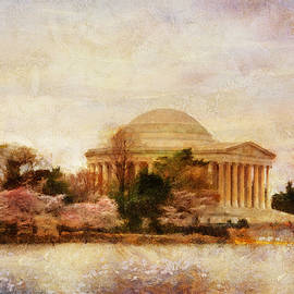 Jefferson Memorial Just Past Dawn