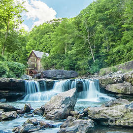 High Water at the Mill by Norma Brandsberg