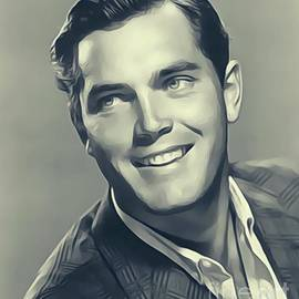 Jeffrey Hunter, Vintage Actor - John Springfield