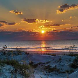 Jekyll Island Sunrise by Louis Dallara