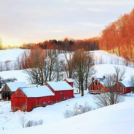 John Vose - Jenne Farm Winter Sunrise