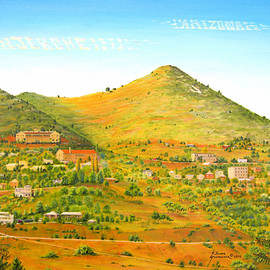 Jerome Arizona by Jerome Stumphauzer