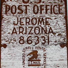 Jerome Arizona Post Office by Denise Mazzocco
