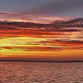 Jeff Breiman - Jersey Shore Panorama Ship Bottom