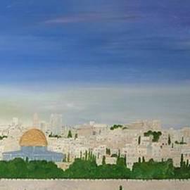 Jerusalem Skyline by Karen Jane Jones