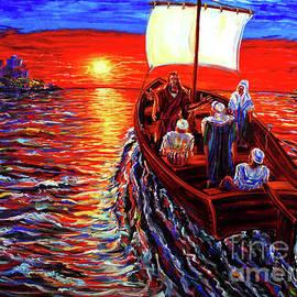 Arthur Robins - Jesus Preaching In A Boat