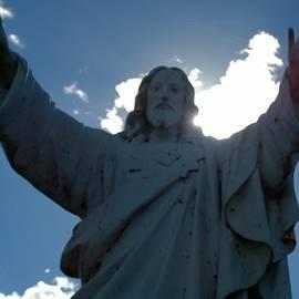Jesus Statue by Delynn Addams