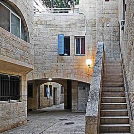 Lyuba Filatova - Jewish Quarter in Old City of Jerusalem, Israel