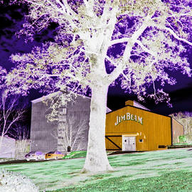 Marian Bell - Jim Beam Distillery Buildings in Surreal Abstract 2