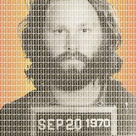 Gary Hogben - Jim Morrison Mug Shot
