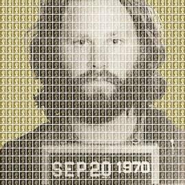 Gary Hogben - Jim Morrison Mug Shot - Gold