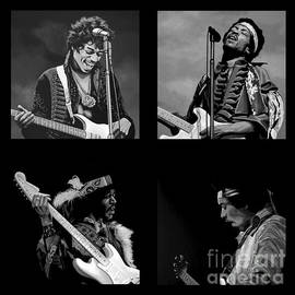 Jimi Hendrix Collection by Meijering Manupix