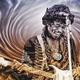 Jimi Hendrix - Legend by Ian Gledhill
