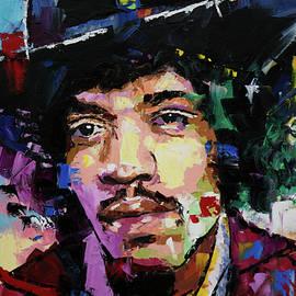 Jimi Hendrix portrait II - Richard Day