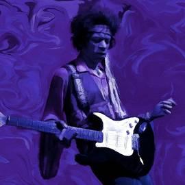 Jimi Hendrix Purple Haze P D P by David Dehner