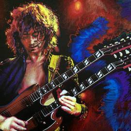 Jimmy Page by Robert Korhonen