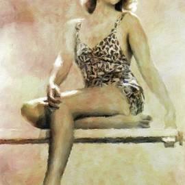 Joan Blondell, Vintage Actress by Mary Bassett - Mary Bassett