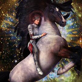 Joan Of Arc 2 by Suzanne Silvir