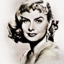 Joanne Woodward, Vintage Actress by John Springfield - John Springfield
