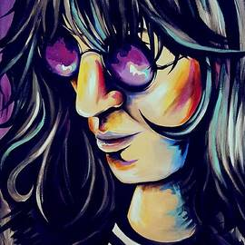 Joey Ramone by Amy Belonio