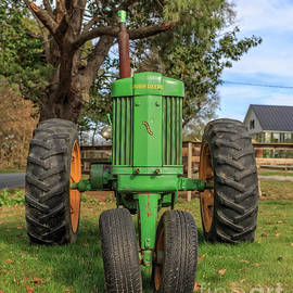 John Deere 50 Vintage Tractor Plainfield New Hampshire - Edward Fielding