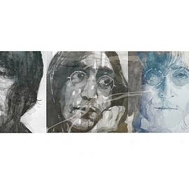 John Lennon Triptych - Paul Lovering