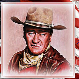 Andrew Read - John Wayne American Legend